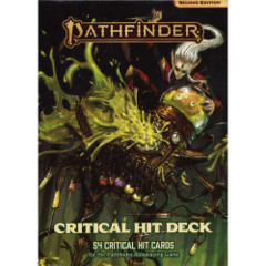 Pathfinder RPG (Second Edition): Critical Hit Deck