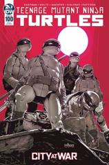Teenage Mutant Ninja Turtles Ongoing #100 (Mature Readers) (10 Copy Incentive Santolouco Variant)