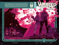 Wasted Space #2 (Mature Readers) (2nd Printing)