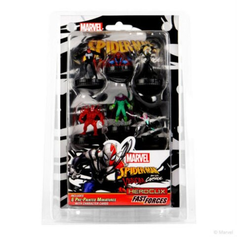 Marvel Heroclix - Spider-man and Venom Absolute Carnage Fast Forces