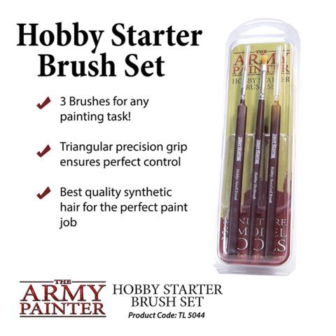 Army Painter - Hobby Starter Brush Set (TL5044)