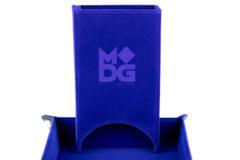 Metallic Dice Games - Velvet Folding Dice Tower (Blue)