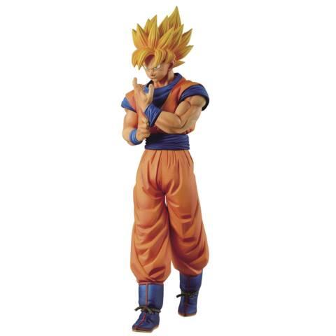 Dragon Ball Z - Banpresto Solid Edge Works Vol 1 Super Saiyan Son Goku Figure