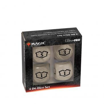 Ultra Pro - Magic: The Gathering 22MM Loyalty Dice Set: White Mana (86826)