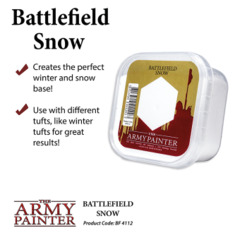 Army Painter - Battlefields Basing: Snow (BF4112)