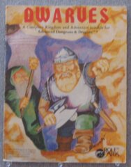 Role Aids - Dwarves: A Complete Kingdom and Adventure Suitable for Advanced Dungeons & Dragons (704) Module (Acceptable)