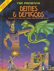 1st Edition (Advanced D&D) - Deities & Demigods with Cthulhu Mythos (Acceptable)