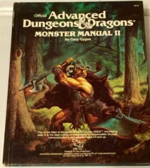1st Edition (Advanced D&D) - Monster Manual II (Acceptable)