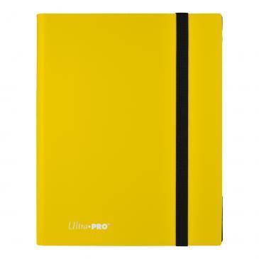 Ultra Pro - 9-Pocket Eclipse PRO-Binder Lemon Yellow (15150)