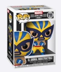 El Animal Indestructible #711 (Marvel Lucha Libre Edition - Wolverine)