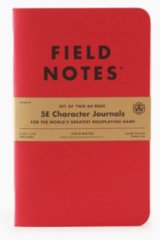 Field Notes - 5E Character Journals