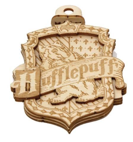 Harry Potter - Emblematics Hufflepuff Wood Decoration