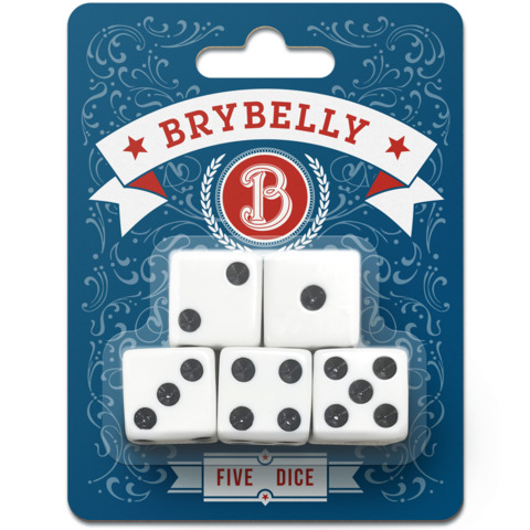 Brybelly - 5-Pack Dice