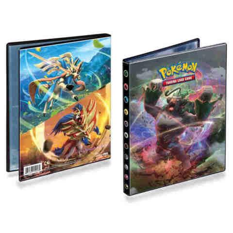 Ultra Pro - Pokemon Sword & Shield: Rebel Clash 4-Pocket Portfolio
