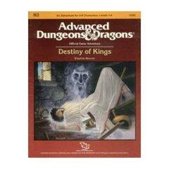 1st Edition (Advanced D&D) - N3 Destiny of Kings Module (Acceptable)
