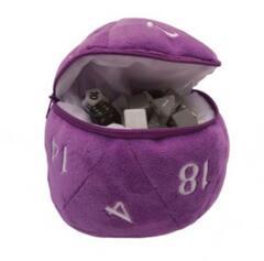 Ultra Pro - D20 Dice Bag (Purple)
