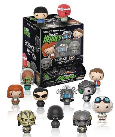 Pint Size Heroes - Science Fiction