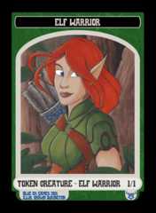 Elf Warrior Token - July 2015
