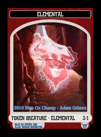 Elemental Token - June / July / August 2016