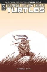 Teenage Mutant Ninja Turtles Macroseries #3 Leonardo (Cover B - Campbell)