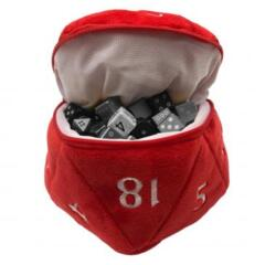 Ultra Pro - D20 Dice Bag (Red) (15757)