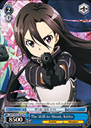 The Will to Shoot, Kirito - SAO/SE23-TE16 TD