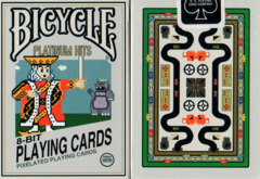 Bicycle Playing Cards - 8-Bit Platinum Deck