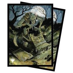 Ultra Pro - MTG Midnight Hunt - Graveyard Glutton 100 Count Standard Sleeves (18825)