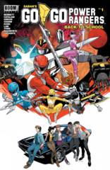 Go Go Power Rangers: Back To School #1 Main