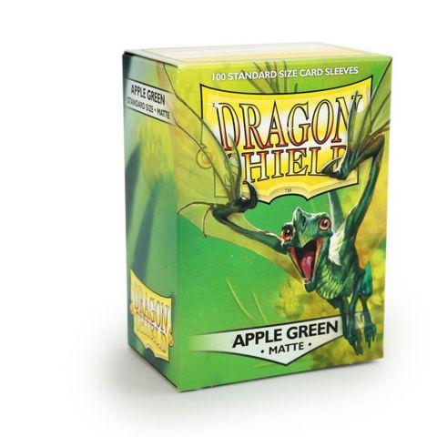 Dragon Shield - Matte Apple Green 100 Count Standard Sleeves