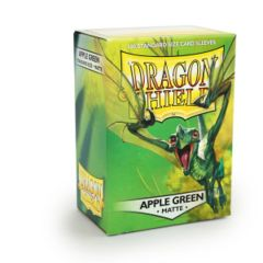 Dragon Shield - Matte Apple Green 100 Count Standard Sleeves