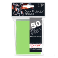 Ultra Pro - Solid Lime Green 50 Count Standard Sleeves (84099)