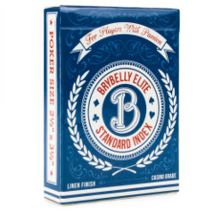 Brybelly - Brybelly Elite Standard Index Deck (Blue)