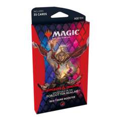 Adventures in the Forgotten Realms Theme Boosters Pack - Red