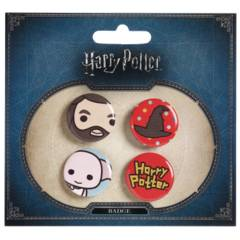 Harry Potter - Hagrid and Dobby Button Set