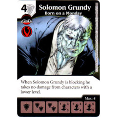Solomon Grundy - Born on a Monday (Die & Card Combo Combo)
