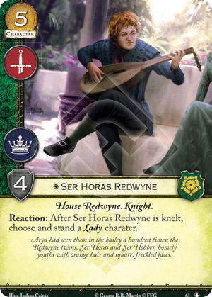 Ser Horas Redwyne - NMG