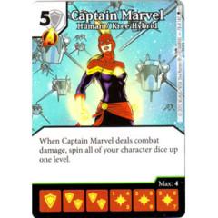 Captain Marvel - Human / Kree Hybrid (Die & Card Combo)