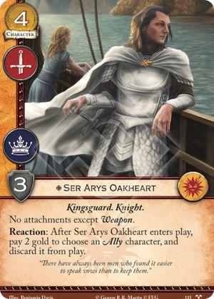 Ser Arys Oakheart TC 115