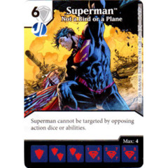 Superman - Not a Bird of a Plane (Die & Card Combo Combo)