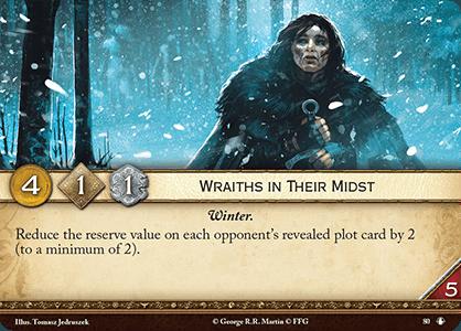 Wraiths in Their Midst