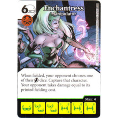 Enchantress - Manipulator (Die & Card Combo)