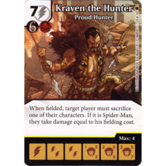 Kraven the Hunter - Proud Hunter (Die & Card Combo)