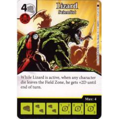 Lizard - Scientist (Die & Card Combo)