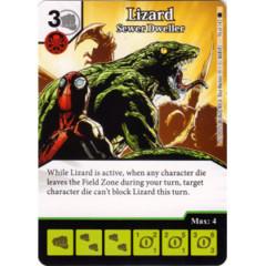 Lizard - Sewer Dweller (Die & Card Combo)