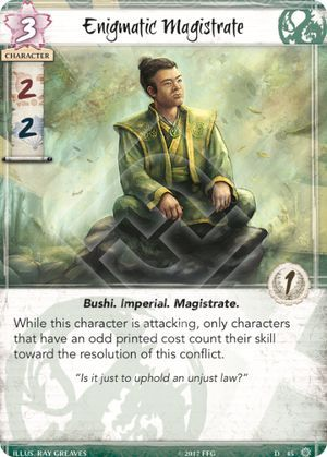 Enigmatic Magistrate