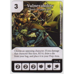 Vulnerability - Basic Action Card (Die & Card Combo Combo)