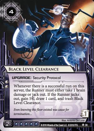 Black Level Clearance