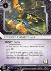 Advanced Assembly Lines