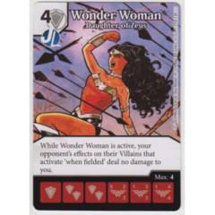 Wonder Woman - Daughter of Zeus (Die & Card Combo Combo)
